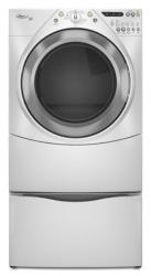 Brand: Whirlpool, Model: WGD9400SW, Color: White with Brushed Chrome Accents