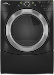 Brand: Whirlpool, Model: WGD9400SW, Color: Black with Brushed Chrome Accents