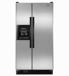 Brand: Whirlpool, Model: ED2GVEXVD, Style: 21.7 cu. ft. Side by Side Refrigerator