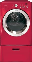 Brand: Frigidaire, Model: FAQG7077KB, Color: Classic Red