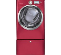 Brand: Electrolux, Model: EWMED65HSS, Color: Red Hot Red
