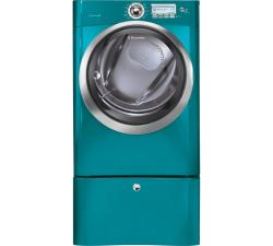Brand: Electrolux, Model: EWMED65HIW, Color: Turquoise Sky
