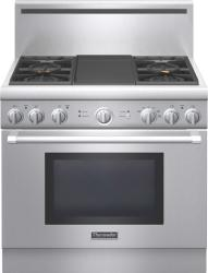 Brand: THERMADOR, Model: PRD364GDHU, Color: Stainless Steel