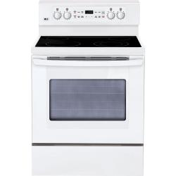 Brand: LG, Model: LRE3091SB, Color: Smooth White