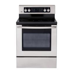 Brand: LG, Model: LRE3091SB, Color: Stainless Steel