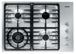Brand: MIELE, Model: KM3465GSS, Fuel Type: Contemporary Linear Grate Design/LP Gas