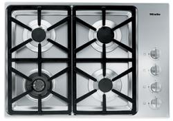 Brand: MIELE, Model: KM3464LPSS, Fuel Type: Hexa Grate Design/Natural Gas
