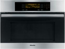 Brand: MIELE, Model: H4082BM, Color: Clean Touch Steel