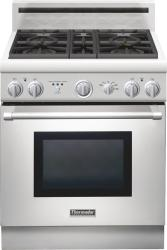Brand: THERMADOR, Model: PRD304GHU, Style: 30 Inch Pro-Style Duel-Fuel Range