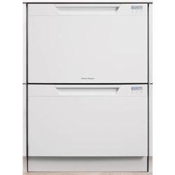 Brand: Fisher Paykel, Model: DD24DCB6, Color: White with LCD Display