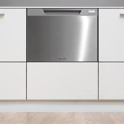 Brand: Fisher Paykel, Model: DD24SCHTX6, Color: Stainless Steel, LCD Display, Built-In Softener