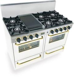 Brand: FiveStar, Model: TPN5107BW, Color: White with Brass Package