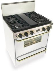 Brand: FiveStar, Model: WPN2817SW, Color: White with Brass Package