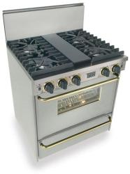 Brand: FiveStar, Model: WPN2817SW, Color: Stainless Steel with Brass Package