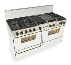 Brand: FiveStar, Model: WTN6377W, Color: White with Brass Package