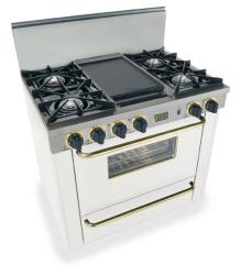 Brand: FiveStar, Model: TTN3107, Color: White with Brass Package