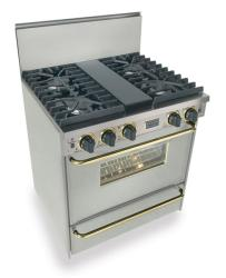 Brand: FiveStar, Model: TTN2817, Color: Stainless Steel with Brass Package