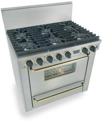 Brand: FiveStar, Model: TPN3117BSW, Color: Stainless Steel with Brass Package