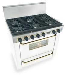 Brand: FiveStar, Model: TTN3117SW, Color: White with Brass Package