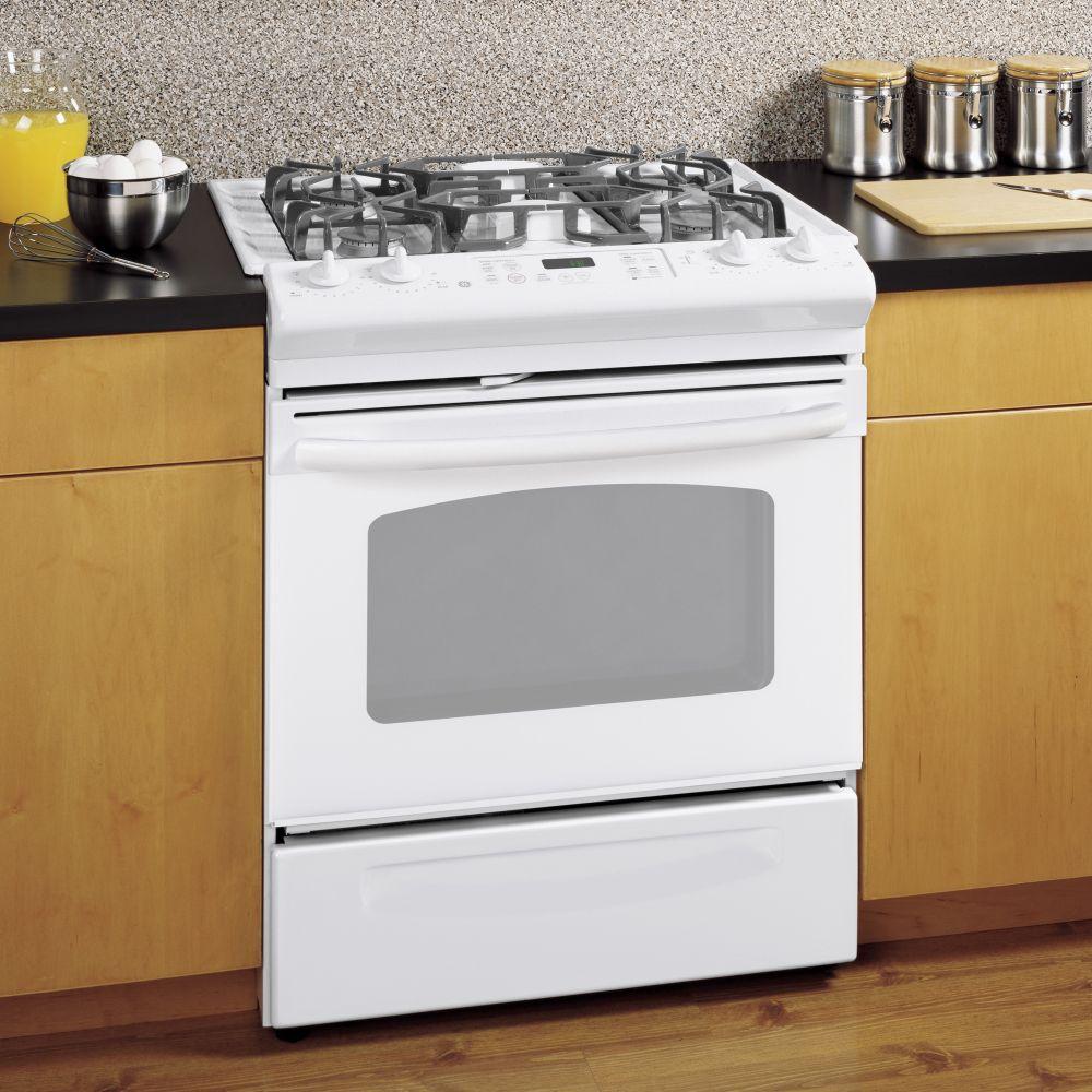 jgsp28denww general electric jgsp28denww gas slide in ranges. Black Bedroom Furniture Sets. Home Design Ideas