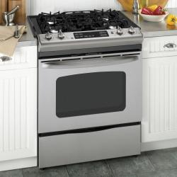 Brand: GE, Model: JGSP28DENBB, Color: Stainless Steel