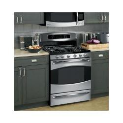 Brand: GE, Model: PGB918DEMBB, Color: Stainless Steel