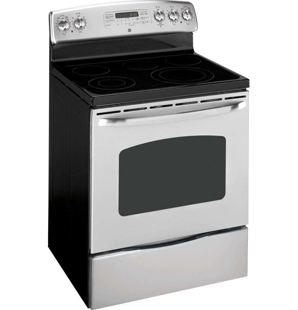 General Electric Stoves ~ Jb tpww general electric ranges white