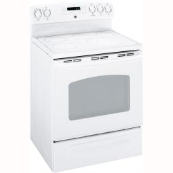 Brand: General Electric, Model: JB840DPBB, Color: White