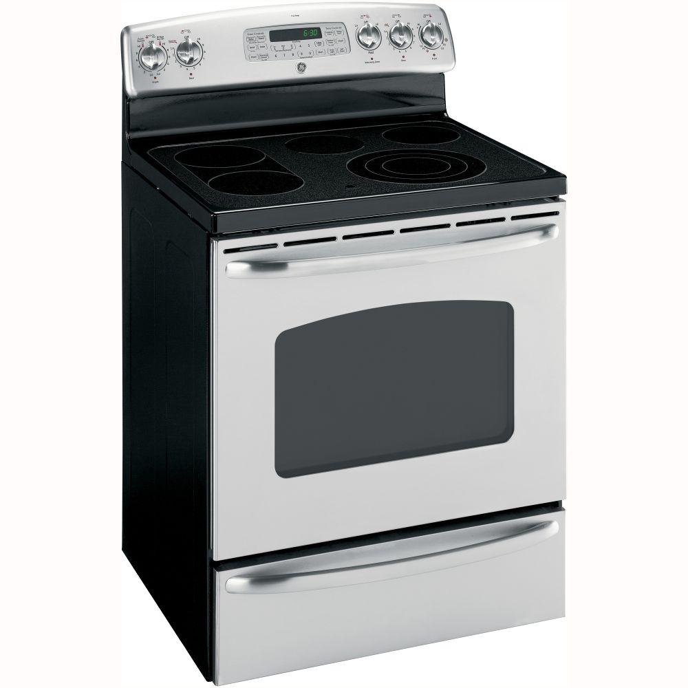 Ge Electric Stove ~ Jb spss general electric ranges