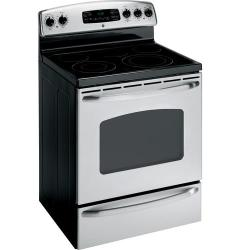 Brand: GE, Model: JBP80TMWW, Color: Stainless Steel