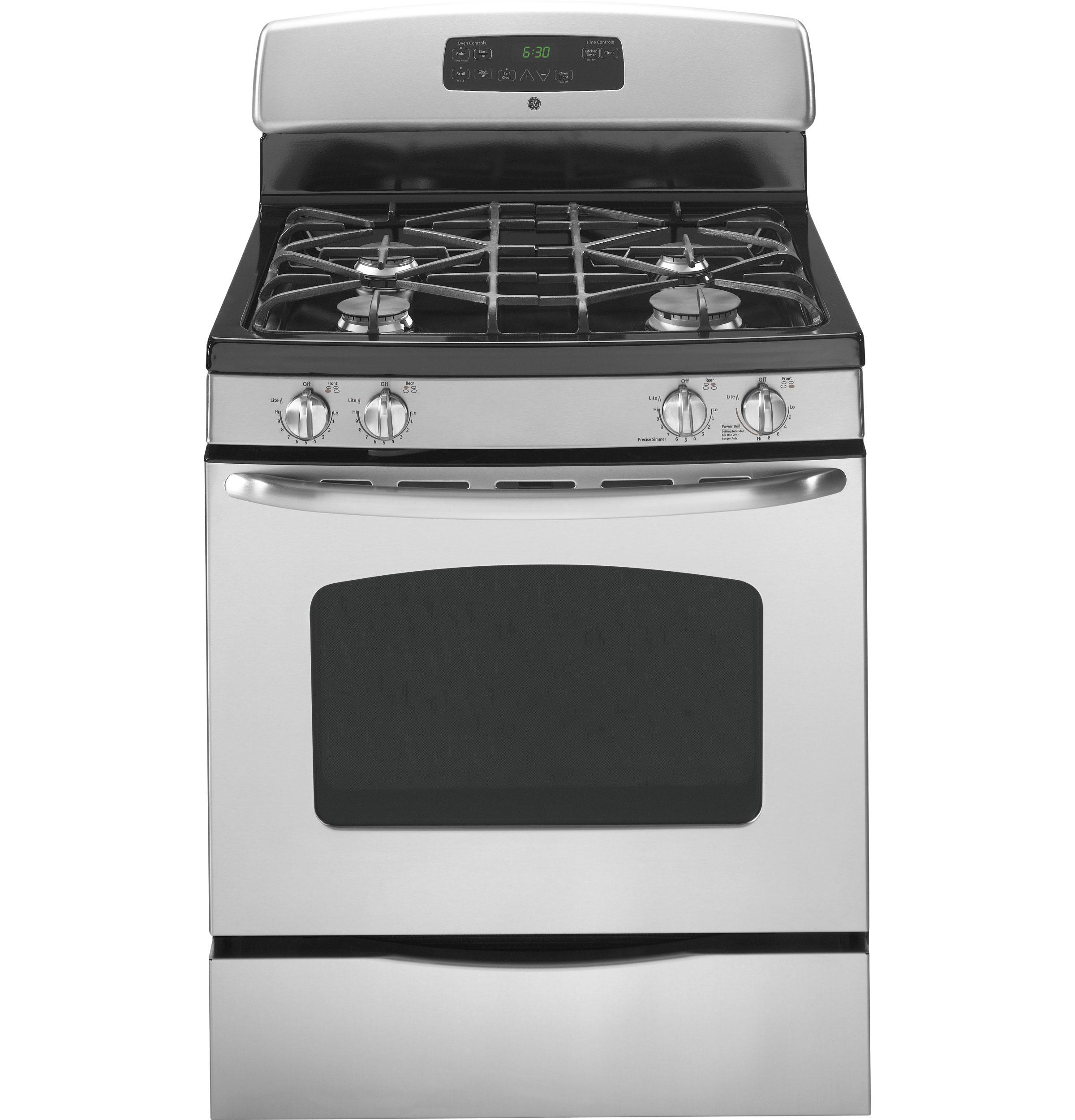 General Electric Stoves ~ Jgb sepss general electric gas ranges