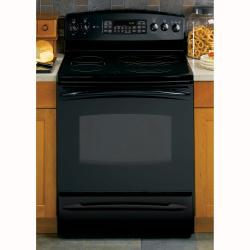 Brand: GE, Model: PB969SPSS, Color: Black with Black Glass Door