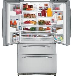 Brand: GE, Model: PGSS5PJYSS, Style: 24.9 cu. ft. Refrigerator