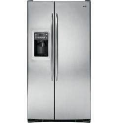 Brand: GE, Model: PSSS7RGXSS, Style: 26.5 cu. ft. Side by Side Refrigerator