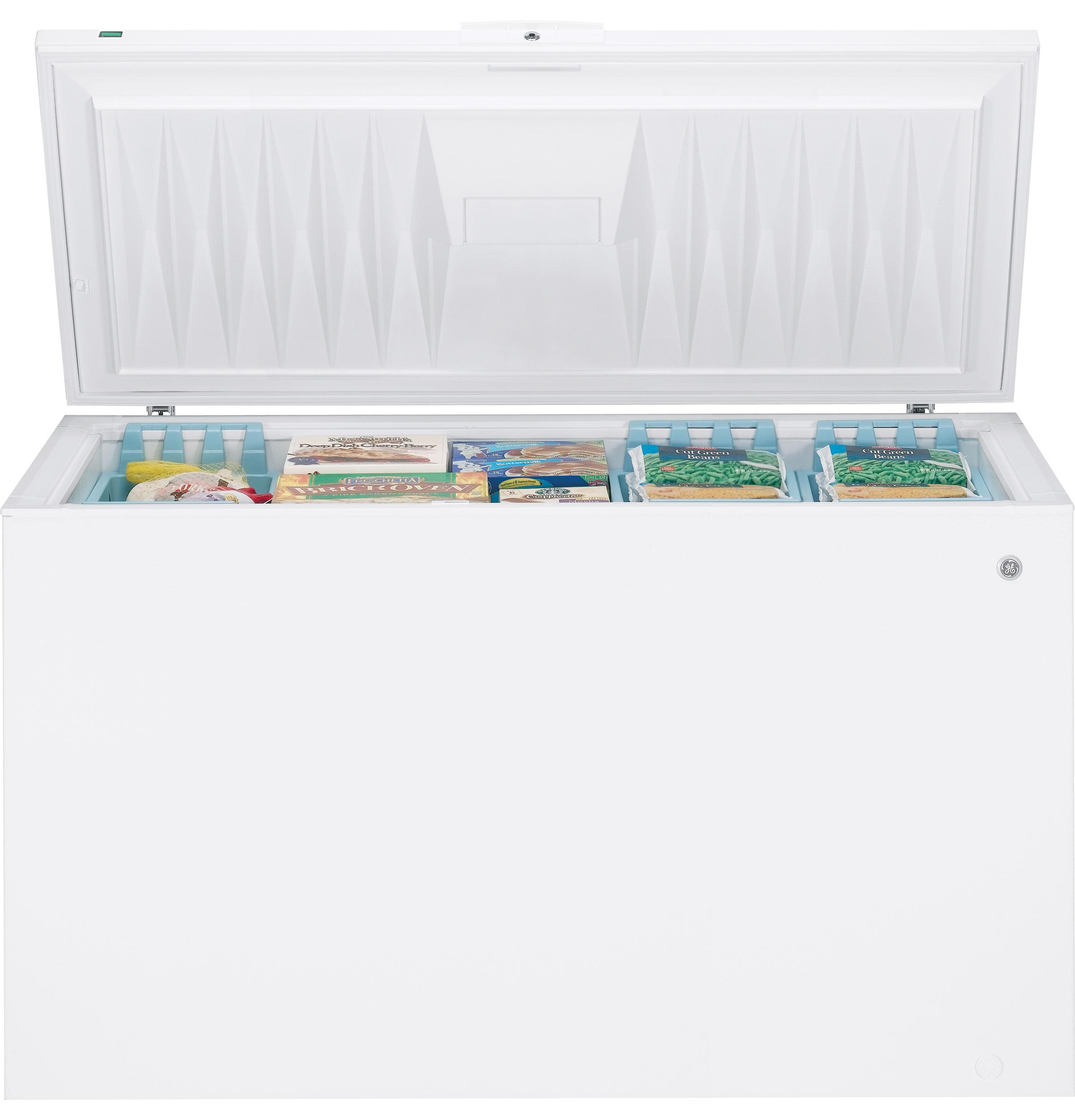 Fcm20suww General Electric Fcm20suww Chest Freezers White