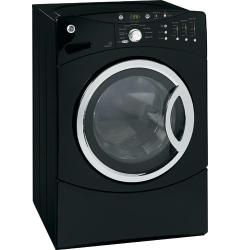 Brand: GE, Model: WCVH6800JMR, Color: Black on Black