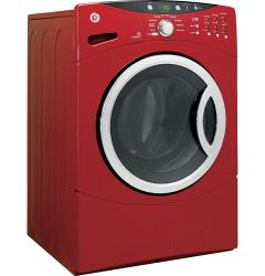 Brand: GE, Model: WCVH6800JMR, Color: Metallic Red