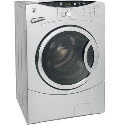 Brand: GE, Model: WCVH6800JMR, Color: Metallic Silver