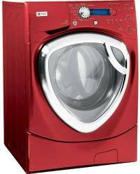 Brand: GE, Model: WPDH8900JWW, Color: Vermillion Red