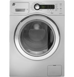 Brand: GE, Model: WCVH4800KWW, Color: Metallic Silver