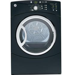Brand: GE, Model: DCVH680EJWW, Color: Black on Black