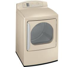 Brand: GE, Model: DPGT650EH, Color: Champagne