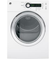 Brand: GE, Model: DCVH480EKWW, Color: White