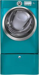 Brand: Electrolux, Model: EWED65H, Color: Turquoise Sky