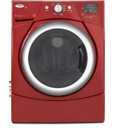 Brand: Whirlpool, Model: WFW9250W, Color: Cranberry Red