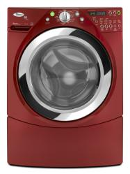 Brand: Whirlpool, Model: WFW9750WL, Color: Cranberry Red