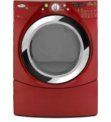 Brand: Whirlpool, Model: WED9750WL, Color: Cranberry Red