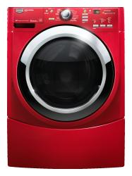 Brand: MAYTAG, Model: MHWE450WJ, Color: Crimson Red