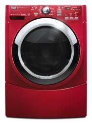 Brand: MAYTAG, Model: MHWE550WR, Color: Crimson Red