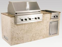 Brand: Viking, Model: OMI08402VKKL, Style: Keystone with Giallo Granite Top